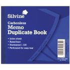 Silvine Dup Book 4.1X5 Memo Ncr 703-T (Pack of 12)